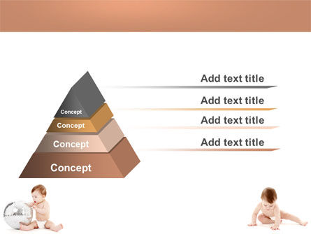 Sweet Babies PowerPoint Template, Slide 4, 05642, Education & Training — PoweredTemplate.com
