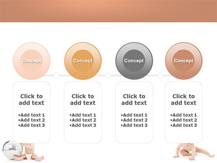 Sweet Babies PowerPoint Template Slide 5