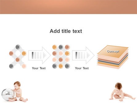 Sweet Babies PowerPoint Template Slide 9