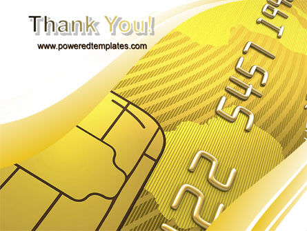 Bank Credit Card PowerPoint Template Slide 20