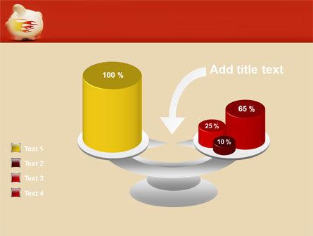 Piggy Bank PowerPoint Template Slide 10