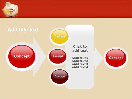 Piggy Bank PowerPoint Template Slide 17