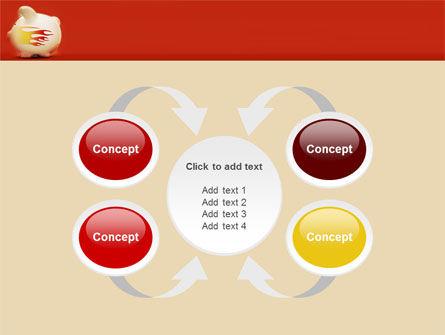 Piggy Bank PowerPoint Template Slide 6