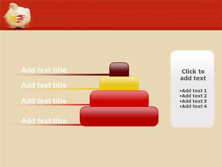 Piggy Bank PowerPoint Template Slide 8