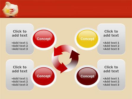 Piggy Bank PowerPoint Template Slide 9
