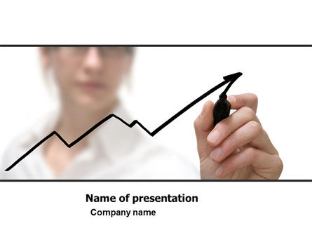 Increasing Rates PowerPoint Template, 05645, Consulting — PoweredTemplate.com