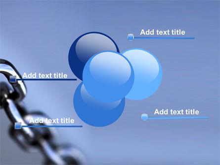 Steel Chain PowerPoint Template Slide 10