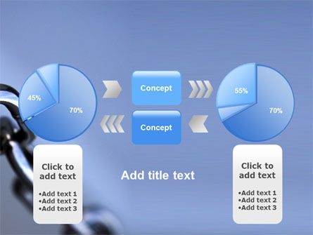 Steel Chain PowerPoint Template Slide 11