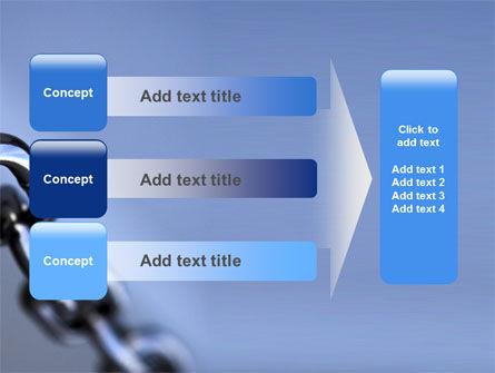 Steel Chain PowerPoint Template Slide 12