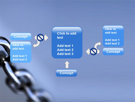 Steel Chain PowerPoint Template Slide 13