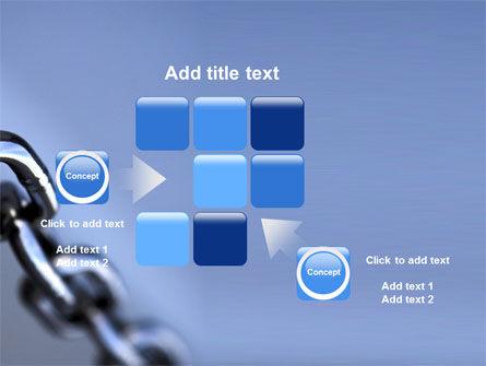 Steel Chain PowerPoint Template Slide 16
