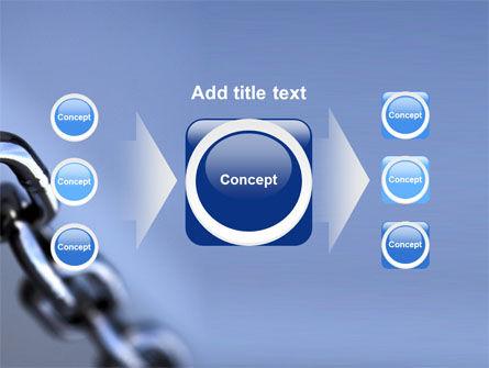 Steel Chain PowerPoint Template Slide 17