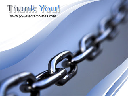 Steel Chain PowerPoint Template Slide 20
