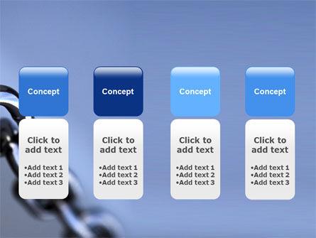 Steel Chain PowerPoint Template Slide 5