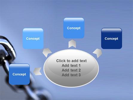 Steel Chain PowerPoint Template Slide 7