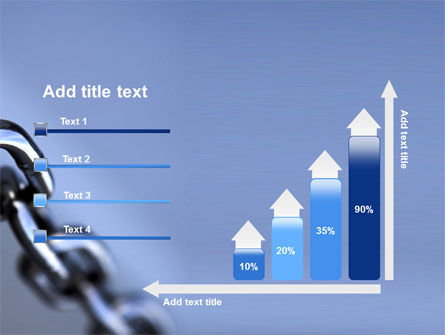 Steel Chain PowerPoint Template Slide 8