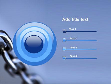 Steel Chain PowerPoint Template Slide 9