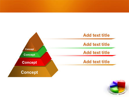 3D Pie Diagram PowerPoint Template Slide 12