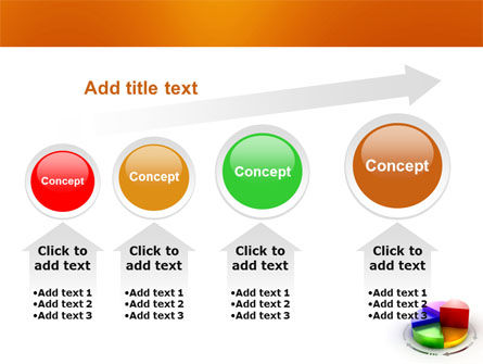 3D Pie Diagram PowerPoint Template Slide 13
