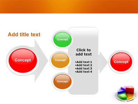3D Pie Diagram PowerPoint Template Slide 17