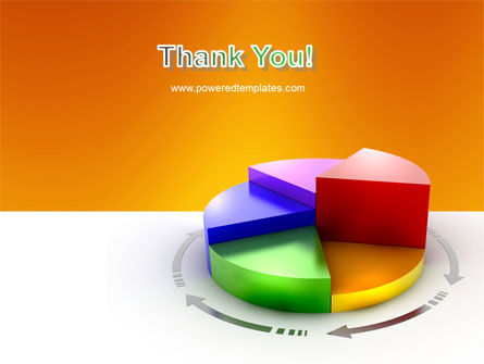 3D Pie Diagram PowerPoint Template Slide 20
