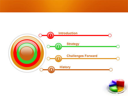 3D Pie Diagram PowerPoint Template Slide 3