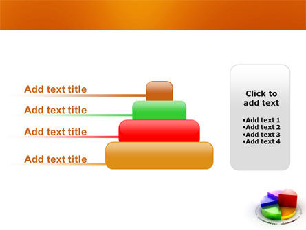3D Pie Diagram PowerPoint Template Slide 8