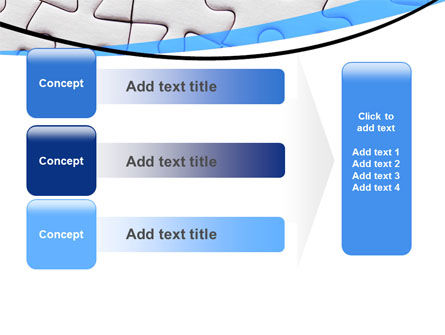 Blue Conundrum PowerPoint Template Slide 12