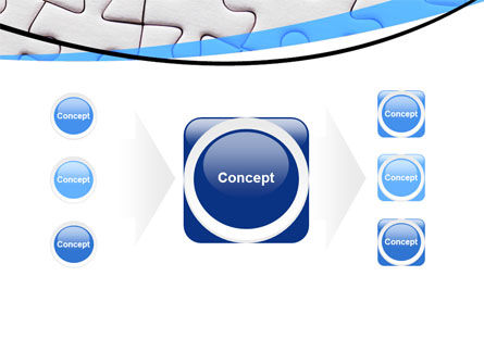 Blue Conundrum PowerPoint Template Slide 17
