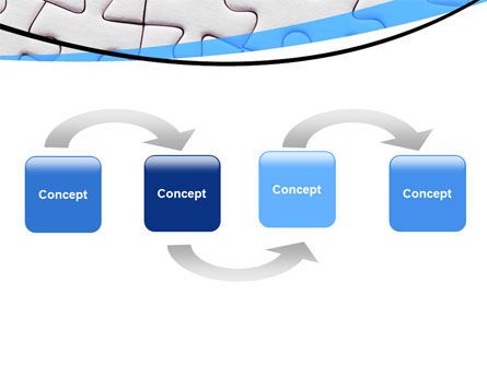 Blue Conundrum PowerPoint Template Slide 4