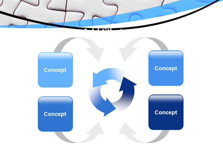 Blue Conundrum PowerPoint Template Slide 6