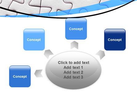 Blue Conundrum PowerPoint Template Slide 7