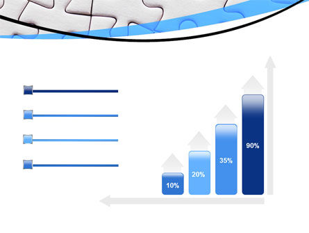 Blue Conundrum PowerPoint Template Slide 8