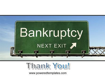 Bankrupt PowerPoint Template Slide 20