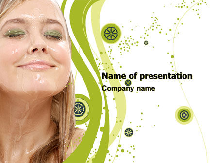 Hair Care PowerPoint Template, 05653, Medical — PoweredTemplate.com