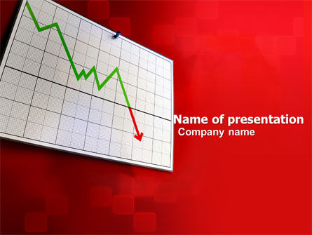 Consulting: Rate Decrease PowerPoint Template #05654