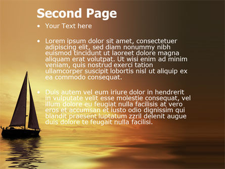 Yacht PowerPoint Template Slide 2