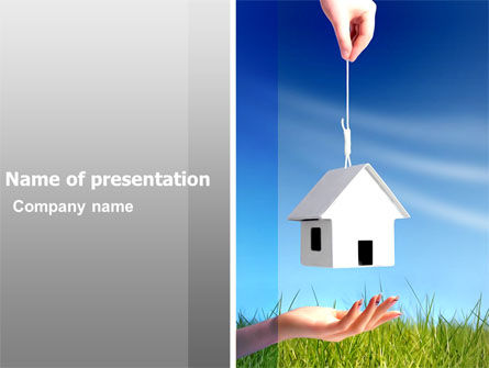 Careers/Industry: Mortgage PowerPoint Template #05657