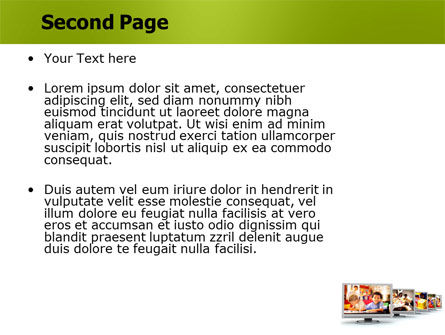 Kids Computer PowerPoint Template Slide 2