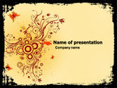 Abstract/Textures: Floral Keynote PowerPoint Template #05662