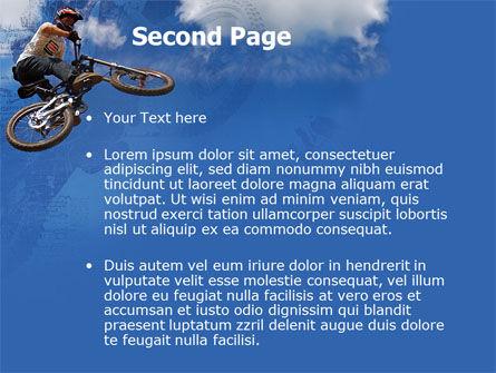 Freeride PowerPoint Template, Slide 2, 05663, Sports — PoweredTemplate.com
