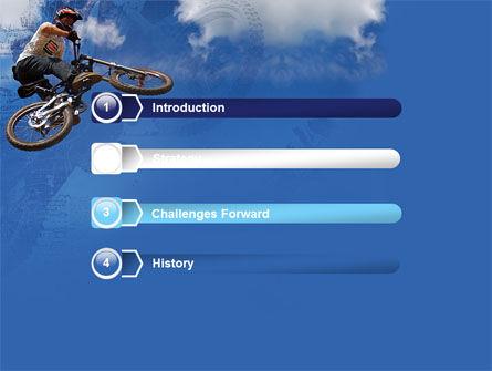 Freeride PowerPoint Template, Slide 3, 05663, Sports — PoweredTemplate.com