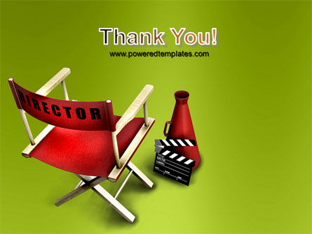 Film Director Chair PowerPoint Template Slide 20