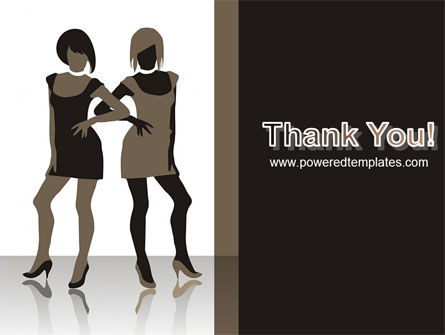 Fashion Models PowerPoint Template Slide 20
