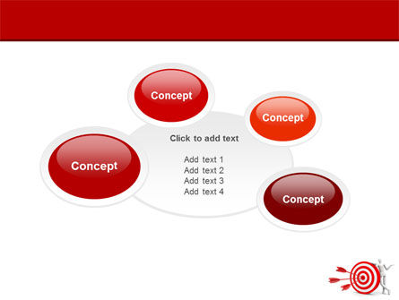 Reach Target PowerPoint Template Slide 16