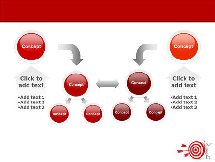Reach Target PowerPoint Template Slide 19