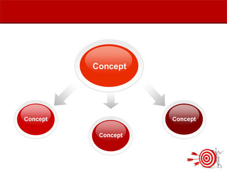 Reach Target PowerPoint Template Slide 4