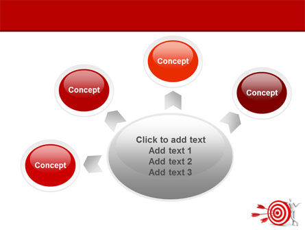 Reach Target PowerPoint Template Slide 7