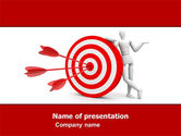 Consulting: Reach Target PowerPoint Template #05667