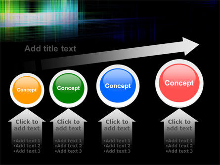 Bright Lines PowerPoint Template Slide 13